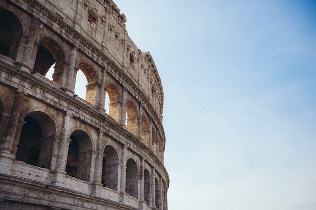 Colosseum in rome. italy Premium Photo