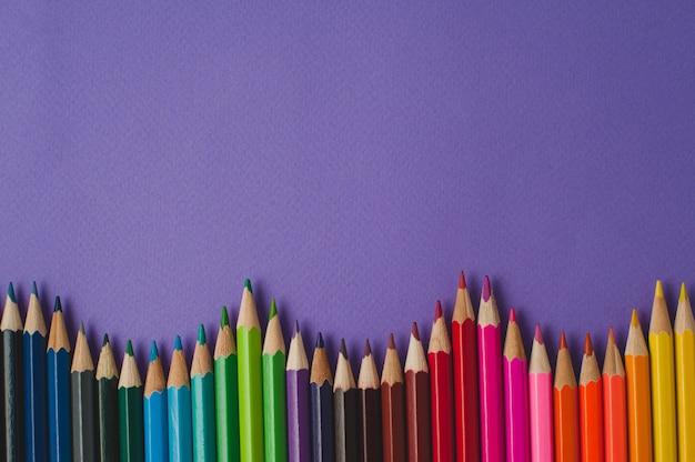 Colour pencils Premium Photo