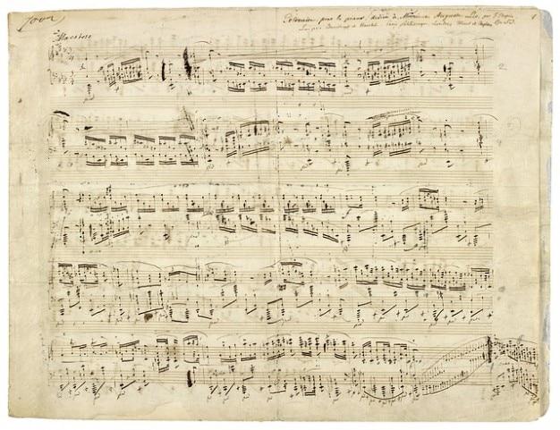 Composer music chopin composition notenblatt 121 62928