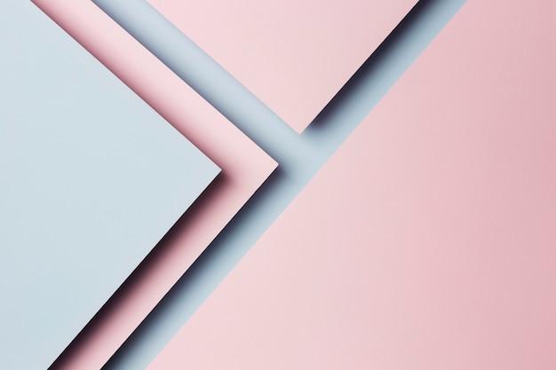 Композиция из разноцветных листов бумаги фона Premium Фотографии