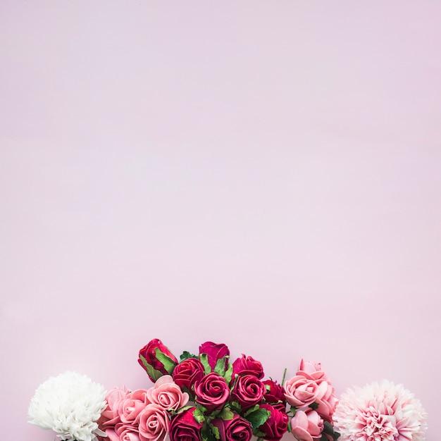 다양한 꽃의 구성 무료 사진