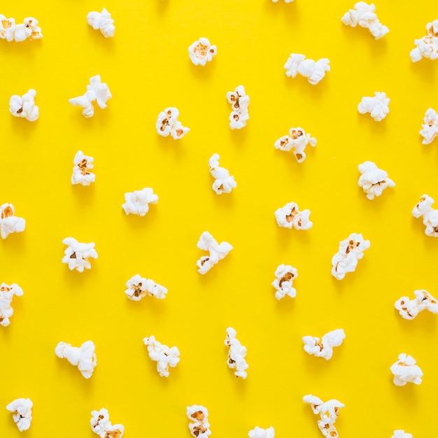 Composition of popcorns Free Photo