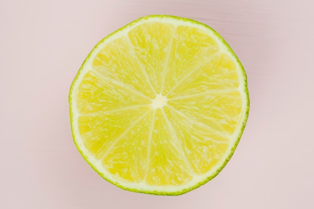 Composition of tasty lime Free Photo