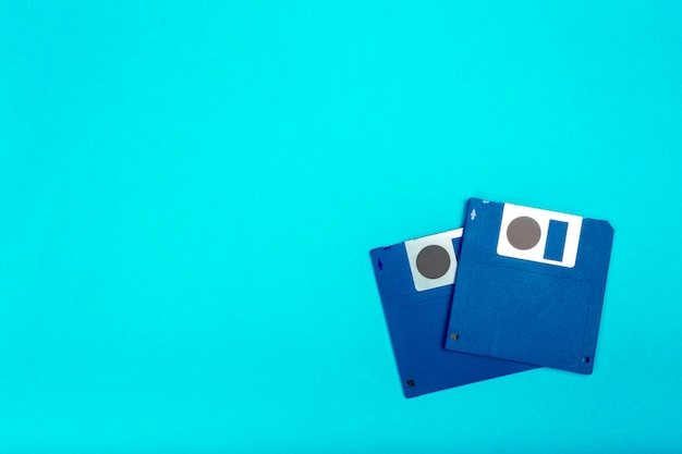 Computer floppy disk Premium Photo