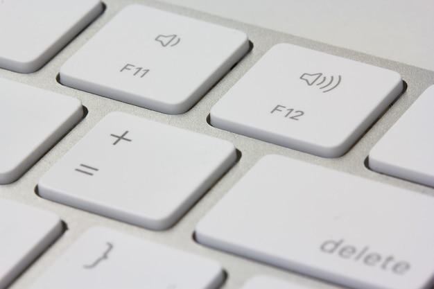 Computer keyboard Premium Photo