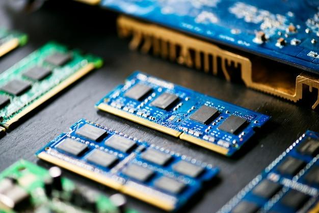Computer mother boards Premium Photo