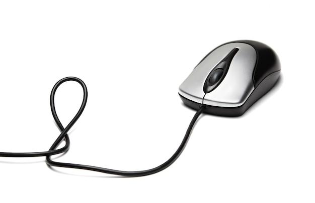 Компьютерная мышь изолирована Premium Фотографии