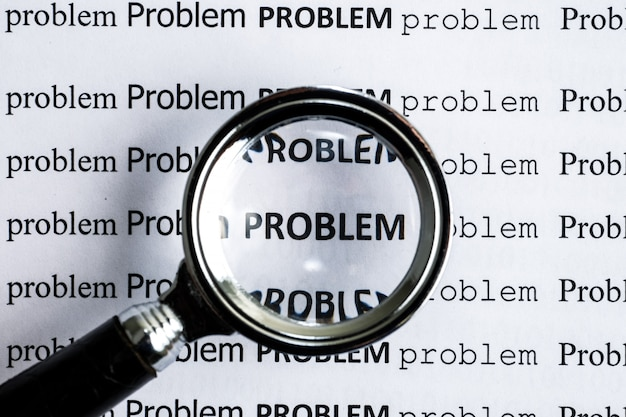 Concept analysis of existing problems. the word