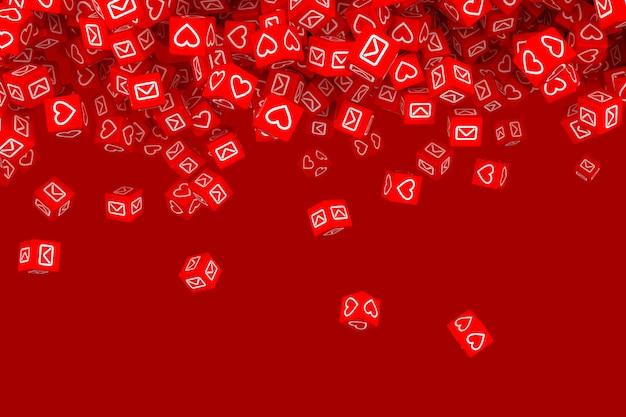 Concept art on social networks Premium Photo