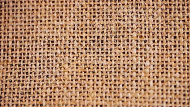 Concept of burlap material Premium Photo