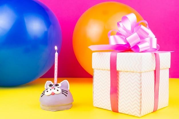 Concept happy birthday Premium Photo