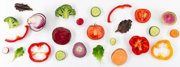 Концепция здорового питания, вид сверху Бесплатные Фотографии