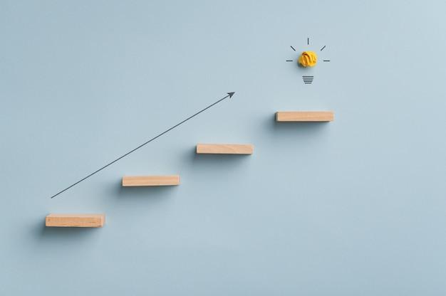 Conceptual image of idea, innovation and ambition Premium Photo