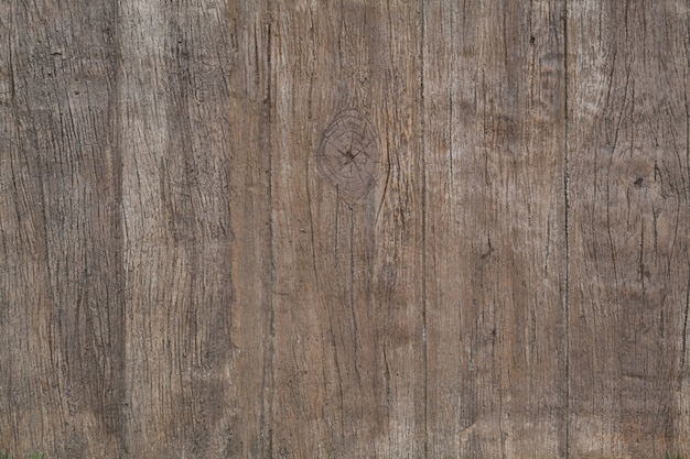 Concrete artificial wood  wall background Premium Photo