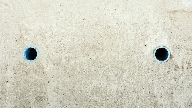 Concrete sewer cover background Premium Photo