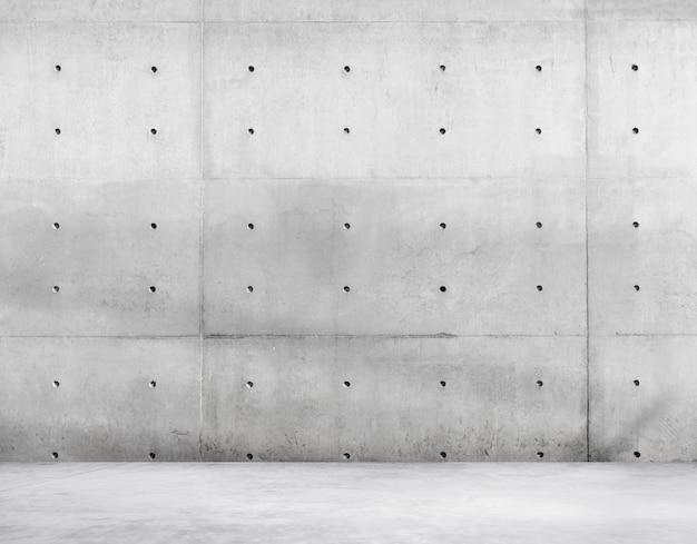 Бетонные стены и цементный пол для копирования пространства Бесплатные Фотографии