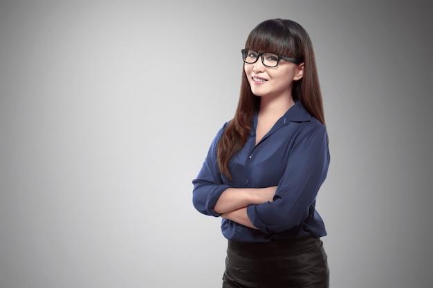 Confindent asian business woman Premium Photo