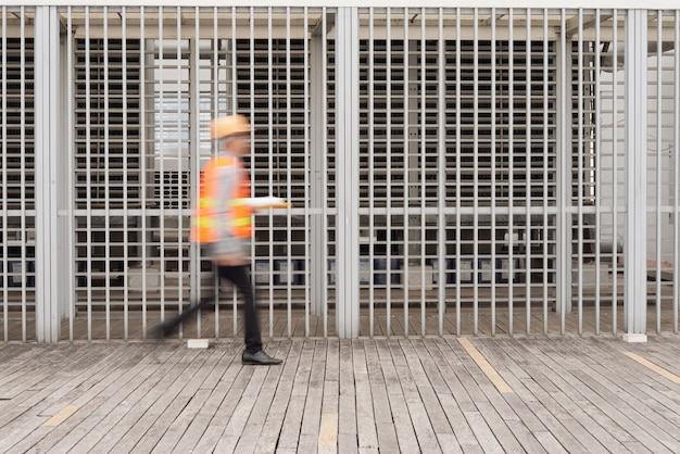 Construction site worker Free Photo
