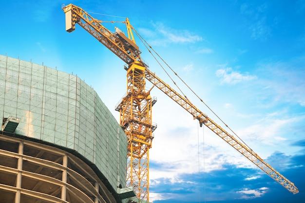 Construction site. Premium Photo