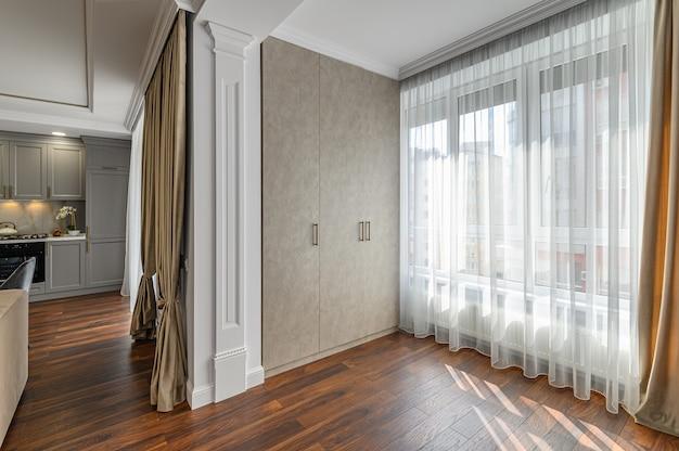 Современный интерьер гостиной в современном стиле Premium Фотографии