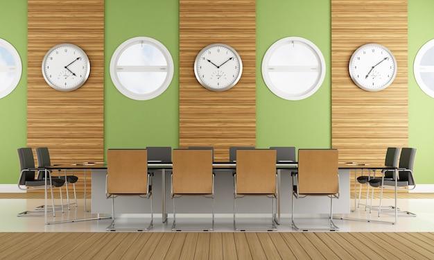 現代的な会議室 Premium写真