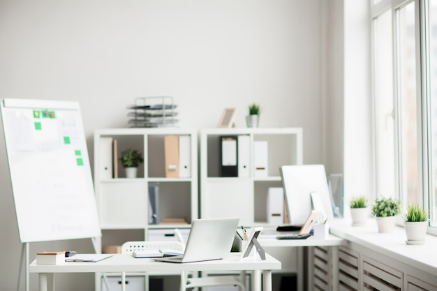 Contemporary office Free Photo