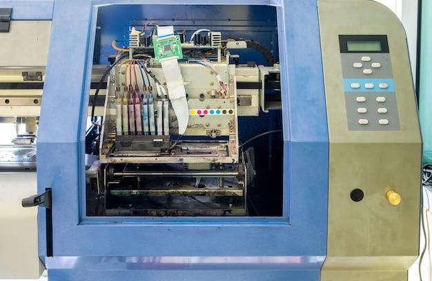 Controller circuit board of printer inkjet Premium Photo