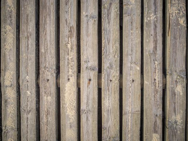木の板が付いている壁のクールな背景 無料写真