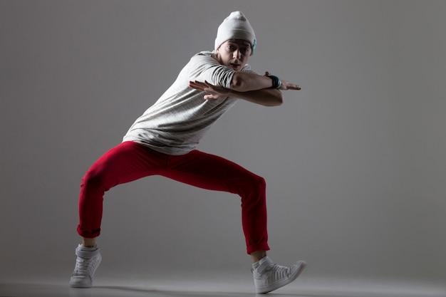 Cool modern dance movement Free Photo