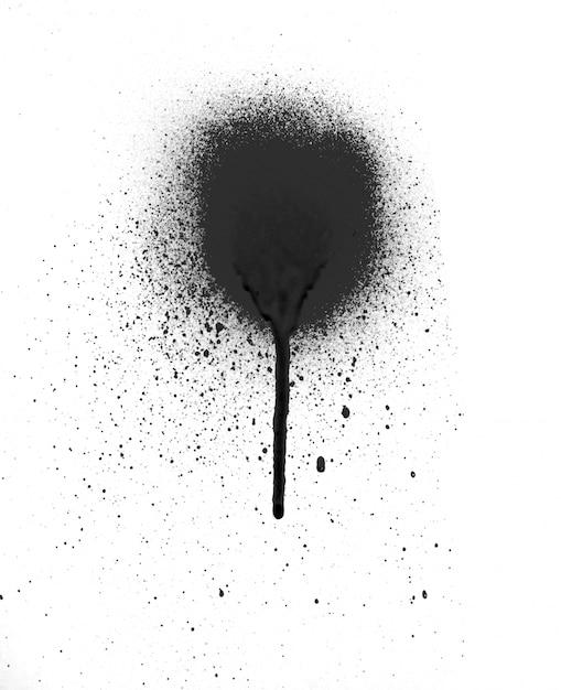 Cool Splash Splashing Spray Paint Photo Free Download