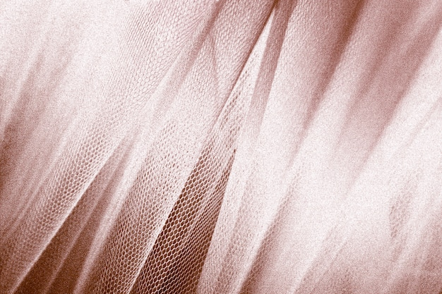 Copper snakeskin fabric texture Free Photo