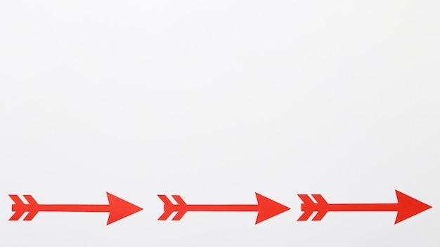 Set di frecce copia-spazio Foto Gratuite