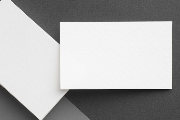Копирование пространства визитной карточки сверху Бесплатные Фотографии