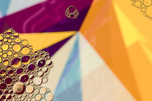 Copy space colourful abstract background Free Photo