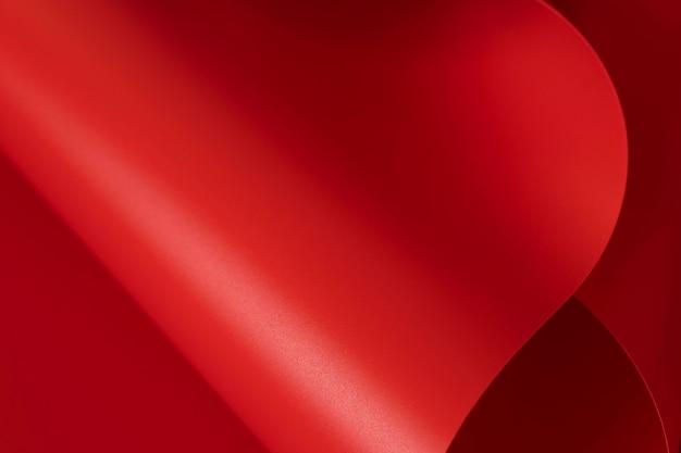 Копирование пространства элегантных красных бумаг Бесплатные Фотографии