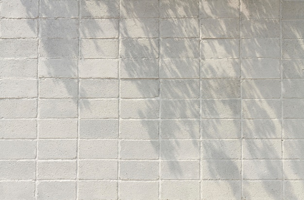 コピースペース正面図白いレンガの壁 Premium写真