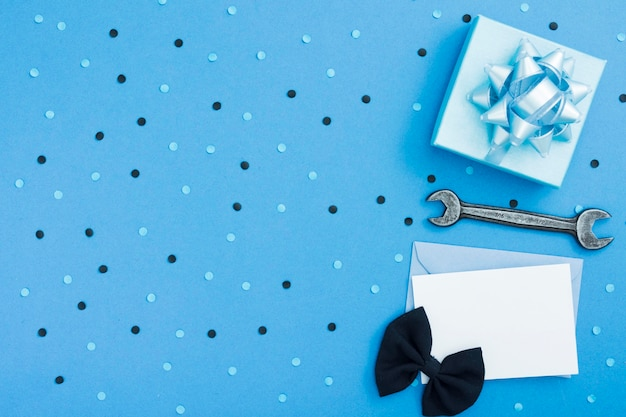 Copy-space подарок и открытка Бесплатные Фотографии