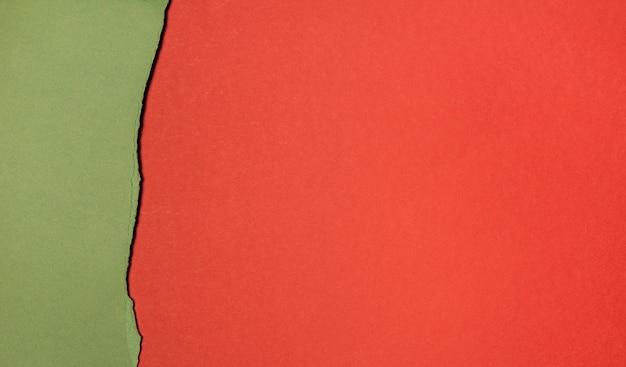 Copia strati di spazio di carta vista dall'alto Foto Gratuite