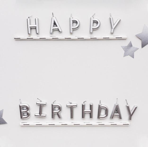 Copy-space поздравляю с днем рождения Бесплатные Фотографии
