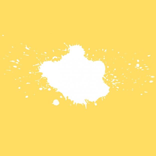 Copyspaceのスプラッシュと黄色の背景 無料写真