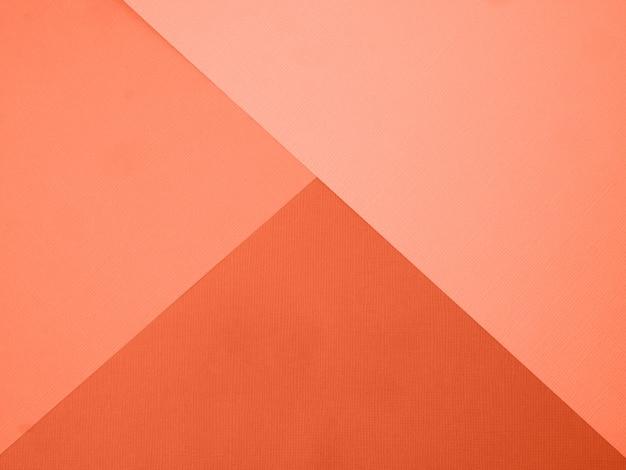 Coral color backdrop for your design Premium Photo