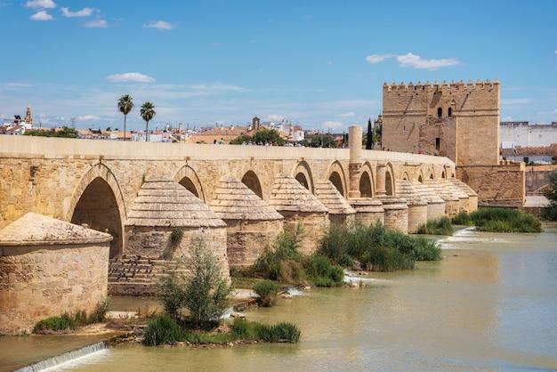 Premium Photo | Cordoba, spain. the roman bridge and calahorra tower.