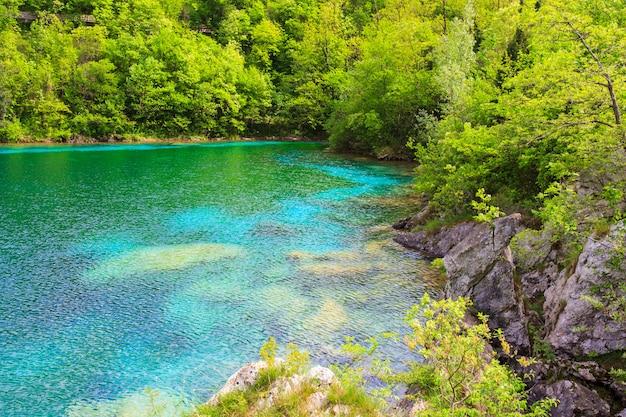 Cornino lake Premium Photo
