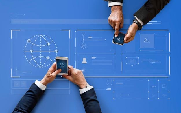 Corporate data management Free Photo