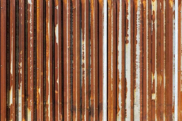 The corrosion of rusted galvanized zinc is the Premium Photo