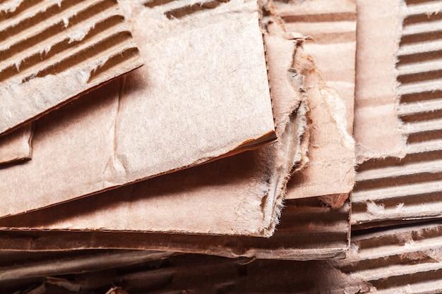 Corrugated cardboard Premium Photo
