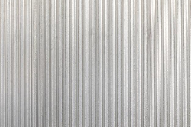 The Corrugated Grey Metal Wall Background Rusty Zinc