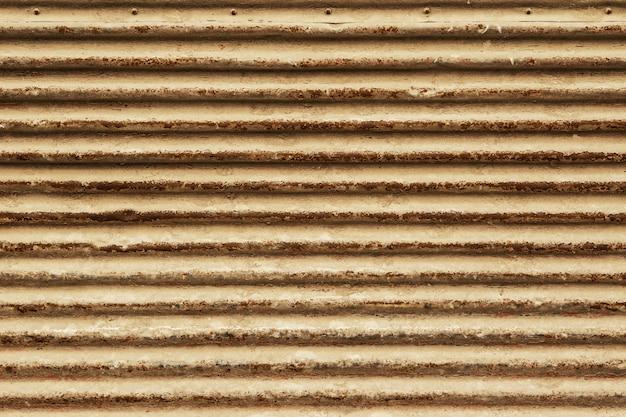 Corrugated metal texture background Premium Photo