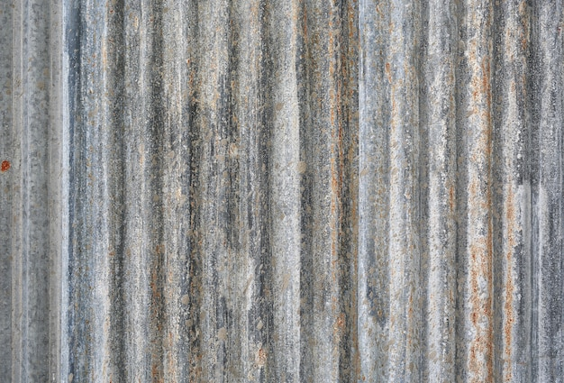 Corrugated steel sheet useful as a background Premium Photo