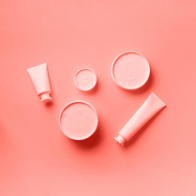 Cosmetics, skin care, beauty, body treatment concept Premium Photo